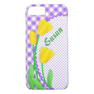 Case-Mate Barely There iPhone 7 Case Yellow Tulips