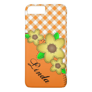 Case-Mate Barely There Plus iPhone 7 Yellow Flower