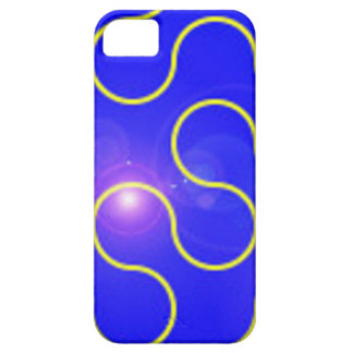 Case-Mate iPhone 5 Universal Case-blueyellowswirl Barely There iPhone 5 Case