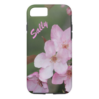 Case-Mate Tough iPhone 7 Case Pink Flowers