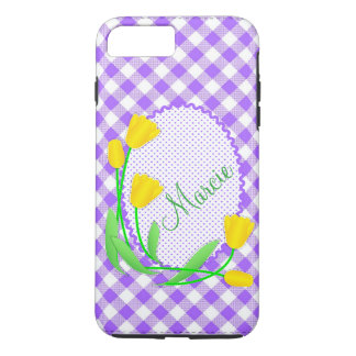 Case-Mate Tough Plus iPhone 7 Case  Yellow Tulips