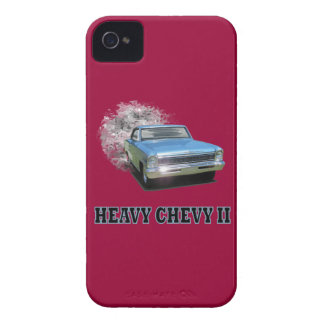 Case-Mate With Chevy II Drag Racing Design iPhone 4 Cover