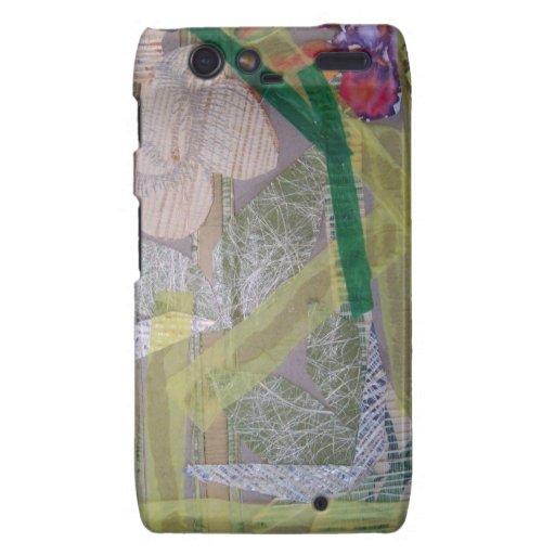 Case Phone Motorola Droid RAZR with collage Droid RAZR Cover
