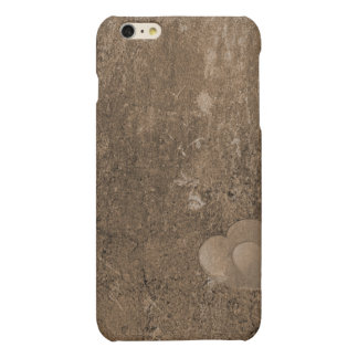 Case Savvy iPhone 6 Plus Matte Finish Case-Brown iPhone 6 Plus Case