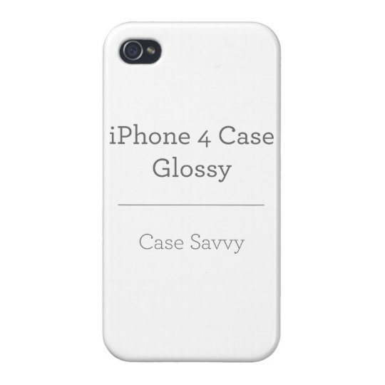 iPhone 4 Glossy Finish Case