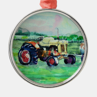 Case Tractor Christmas Ornament