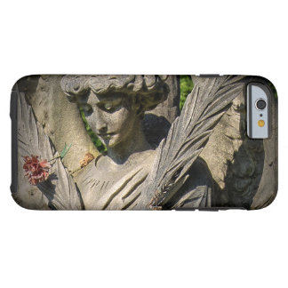 Cases for iPhone 6, Tough. Angel with Flower