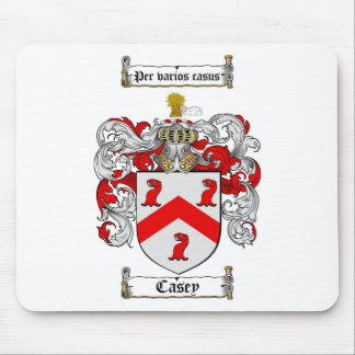CASEY FAMILY CREST -  CASEY COAT OF ARMS MOUSE MAT