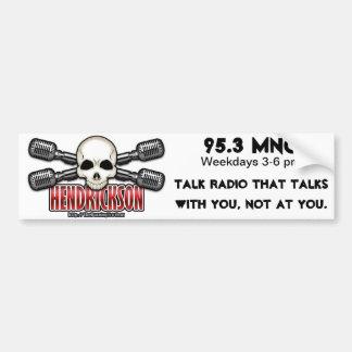 Casey Hendrickson Logo Bumper Sticker