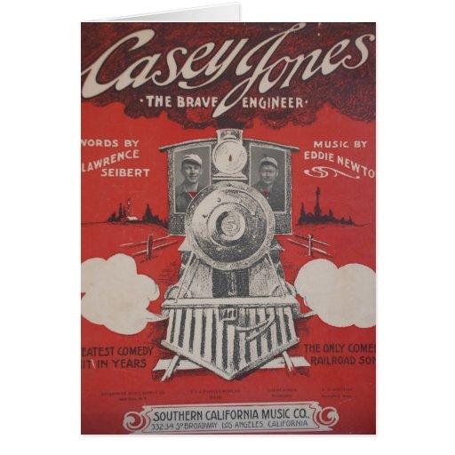 Casey Jones Cards