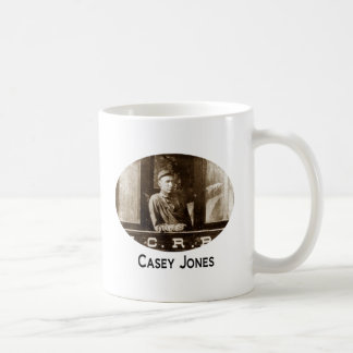Casey Jones Train Coffee Cup