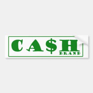 Cash Brand Bumper Sticker