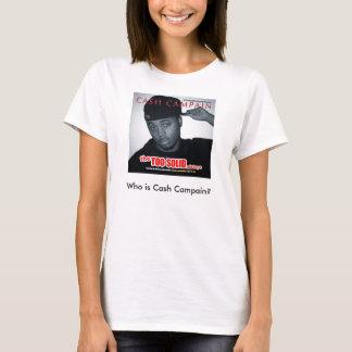 Cash Campain - iPhone T-Shirt