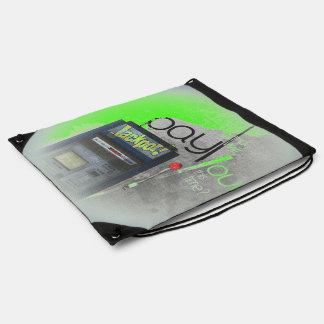 Cash Machine/Jackpot Machine - Green Backpacks
