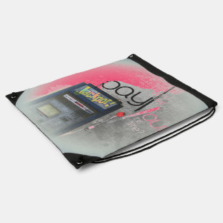 Cash Machine/Jackpot Machine - Pink Cinch Bags