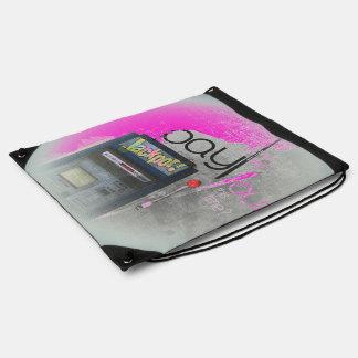 Cash Machine/Jackpot Machine - Purple Rucksacks