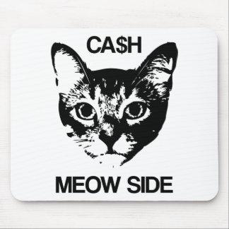 CASH MEOW SIDE MOUSE PAD