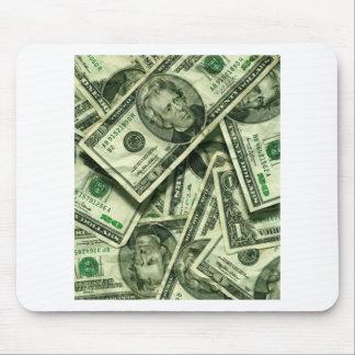 Cash money design mousepad
