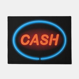 Cash neon. doormat