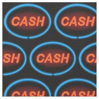 Cash neon. fabric