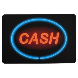 Cash neon. floor mat