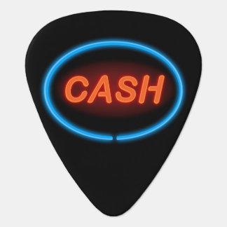 Cash neon. guitar pick