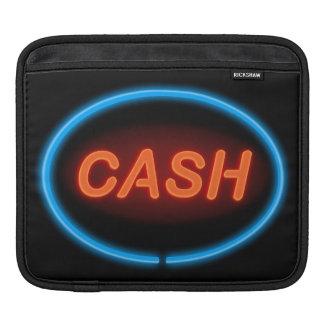 Cash neon. iPad sleeve
