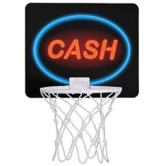 Cash neon. mini basketball hoop
