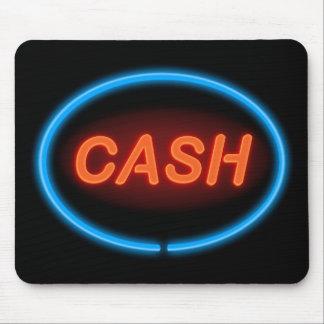 Cash neon. mouse mat