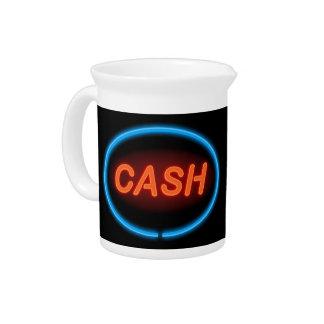 Cash neon. pitcher