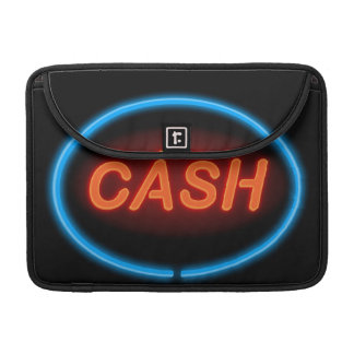 Cash neon. sleeve for MacBook pro