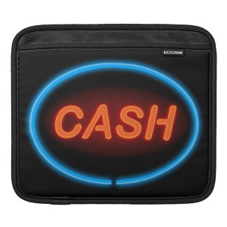 Cash neon. sleeves for iPads