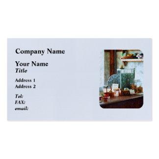 Cash Register in General Store Pack Of Standard Business Cards