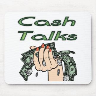 Cash Talks Mousepad