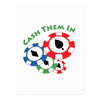 Cash Them In Postcards