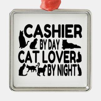 Cashier Cat Lover Christmas Ornament