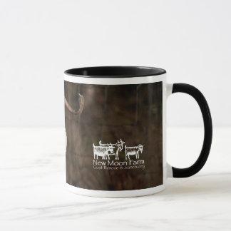 """Cashmere"" New Moon Farm Goat Mug"