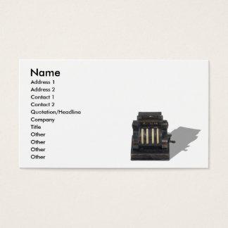 CashRegister091210, Name, Address 1, Address 2,... Business Card