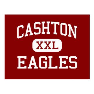 Cashton - Eagles - High School - Cashton Wisconsin Postcard