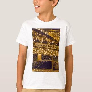 Casino Bright Lights Las Vegas Gambling Money T-Shirt