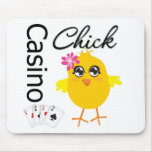 Casino Chick Mouse Pad
