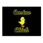 Casino Chick Postcards
