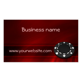 Casino Chip Pack Of Standard Business Cards