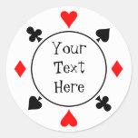 Casino Chip Sticker