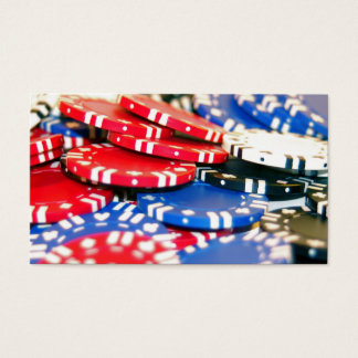 Casino Chips Business Card