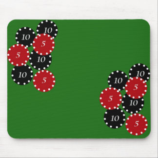 Casino Chips Mouse Mats