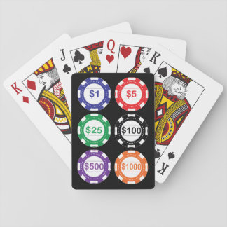 Casino Chips Playing Cards