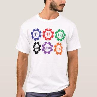 Casino Chips Set T Shirt