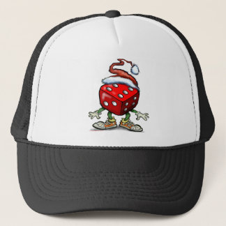 Casino Christmas Trucker Hat