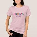 Casino Cowgirl T Shirt in feminine colours